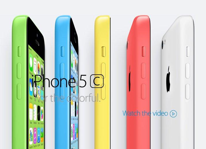 Новый iPhone 5c