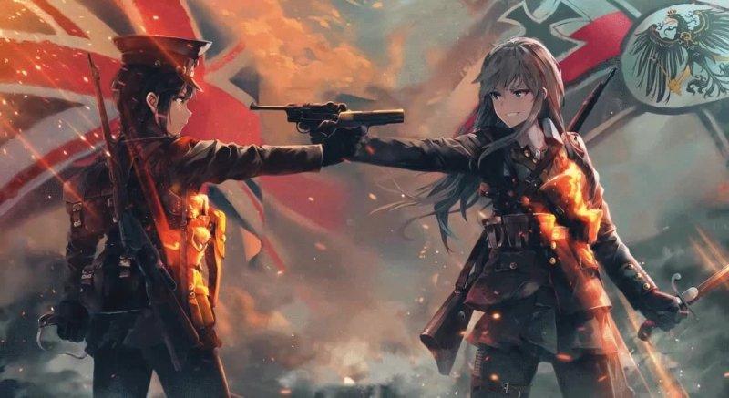 Coub video - Война - как много в этом слове - war, anime, word