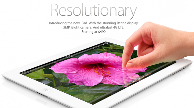 Просто новый iPad (The new iPad)