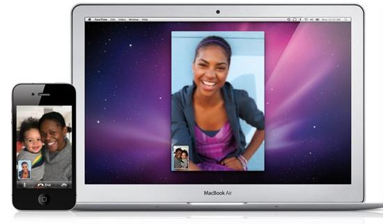 FaceTime теперь и на Mac OS X