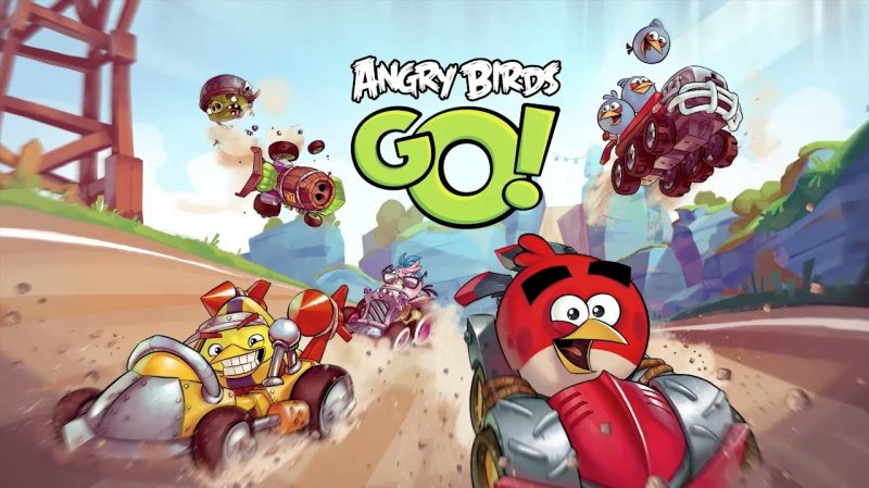 Youtube video - Angry Birds Go - Свиньи и птицы в гоночных баталиях - angry birds, app store, google play, youtube, игры