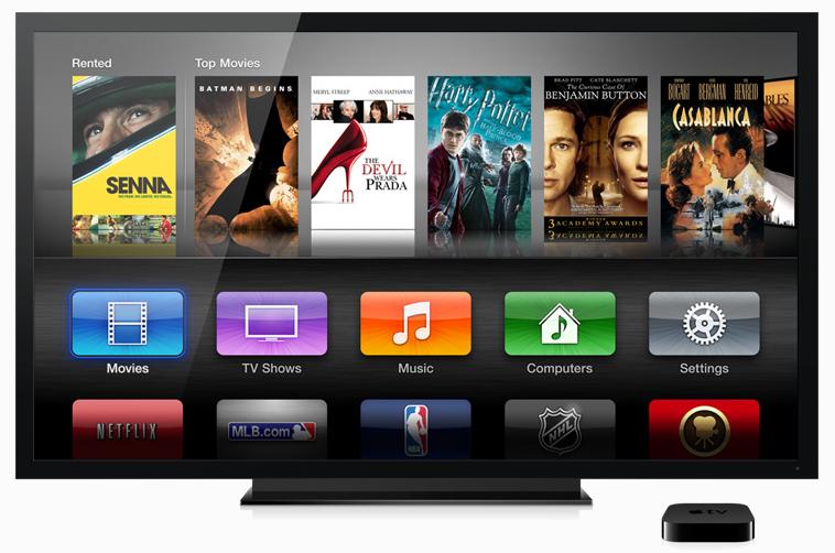 Новый Apple TV (2012), 1080p поддерживается благодаря процессору single-core A5 chip