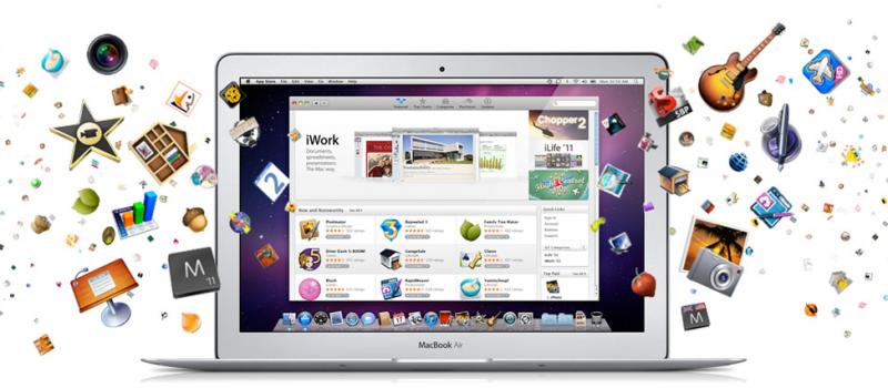 Скачать Mac App Store нельзя, только обновить Mac OS X до 10.6.6.