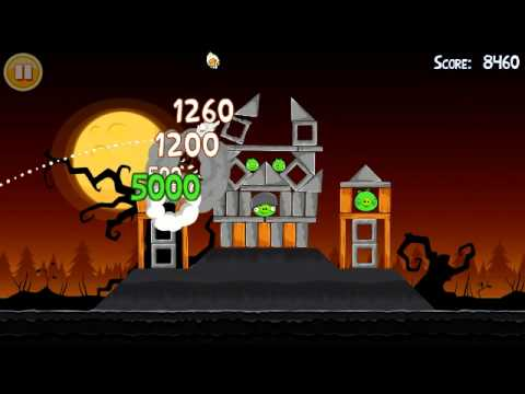 Youtube video - Новый Angry Birds Halloween - angry birds, youtube, игры, app store