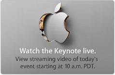 Прямая трансляция конференции Back to the Mac на apple.com