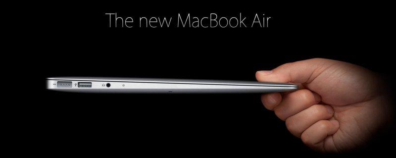 Новый Macbook Air в двух вариантах
