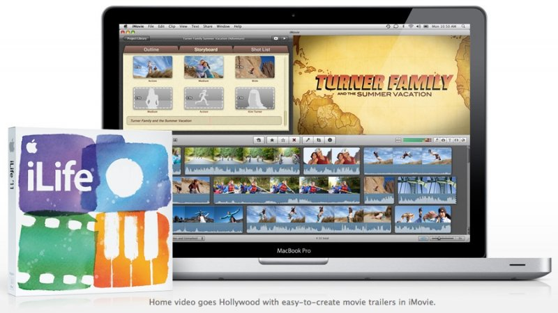 Обновился iPhoto, iMovie, GarageBand