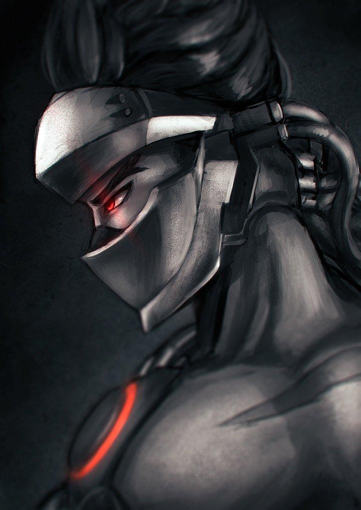 Работы художника Umi Taro по Overwatch