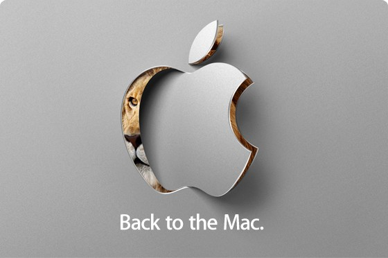 20 октября конференция Back to Mac от Apple