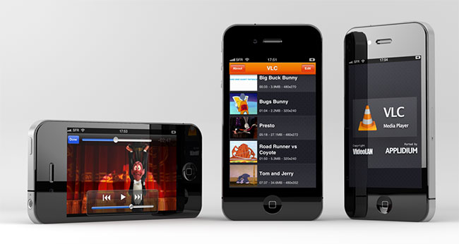 VLC media player скора будет в вашем iPhone