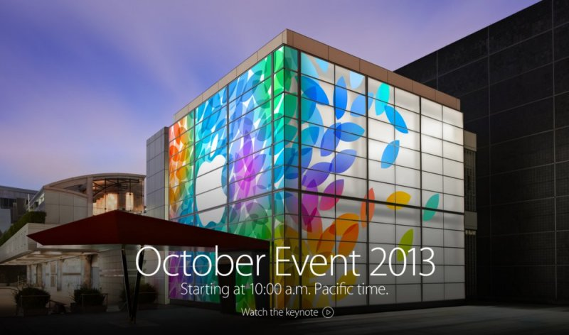 Apple Special Event, 22 октября 2013 года
